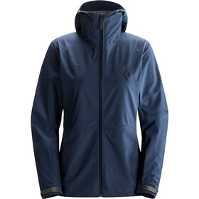 Black Diamond Liquid Point Shell Jacket Dam captain